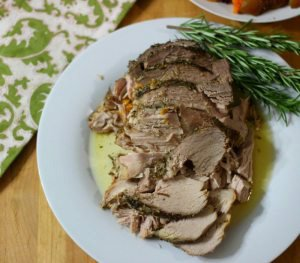 Pork with Sweet Potatoes & Apples in Crockpot