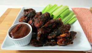 Grilled Chicken Wings with Sweet & Spicy Wing Sauce