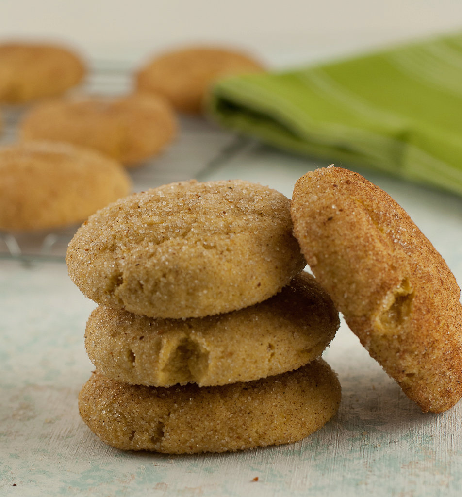 Gluten Free Pumpkin Snickerdoodles and Holiday Cookie Baking Tips