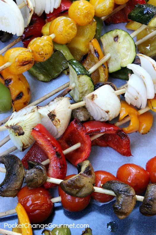 Perfect Grilled Summer Vegetables
