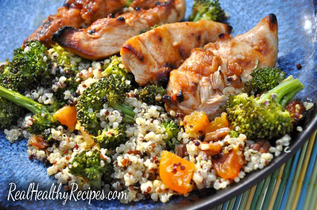 Roasted Broccoli & Quinoa