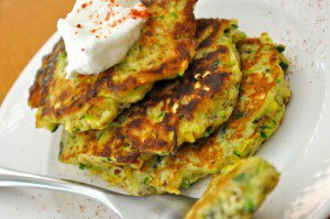 Real Healthy Zucchini Cakes