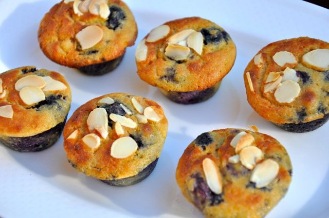 Blueberry & Lemon Mini Muffins