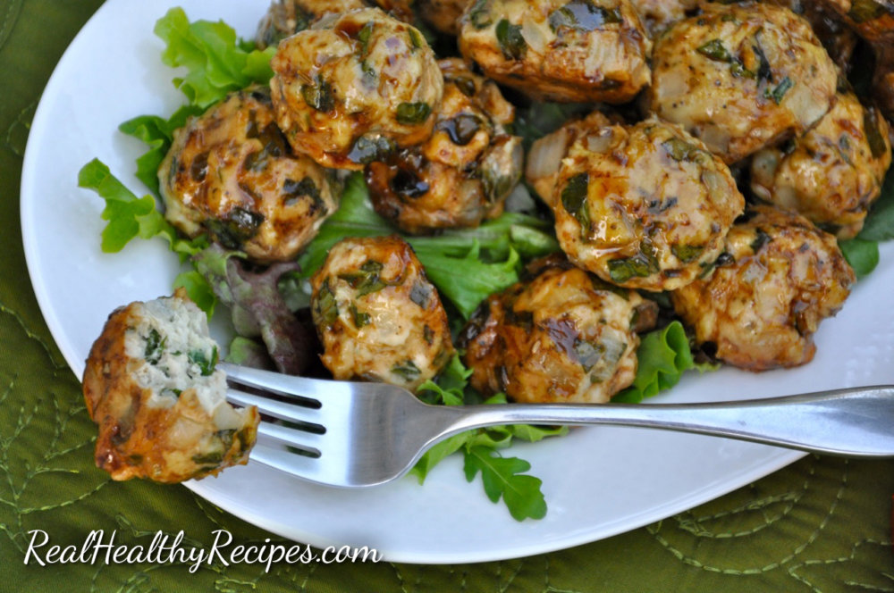 Turkey Apple Meat Balls
