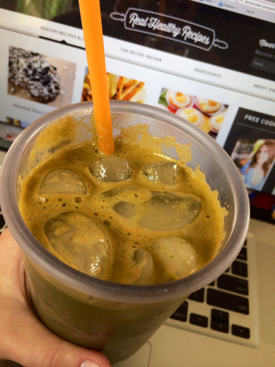 Work Day Green Juice