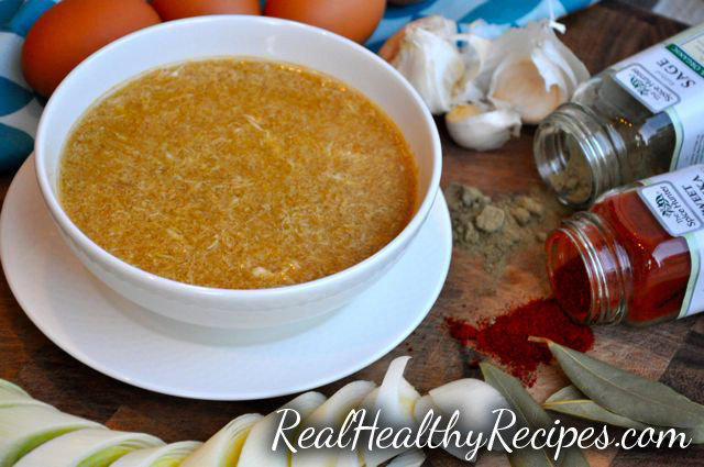 Cold & Flu Recovery Soup