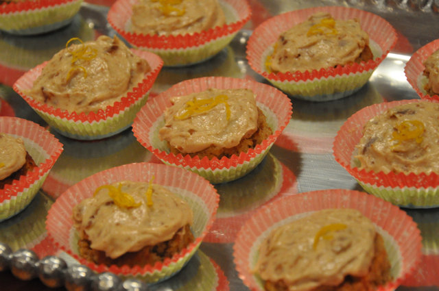 Real Healthy Frosted Lemon Cakes