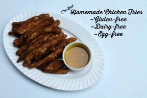 Healthy Homemade Chicken Fries