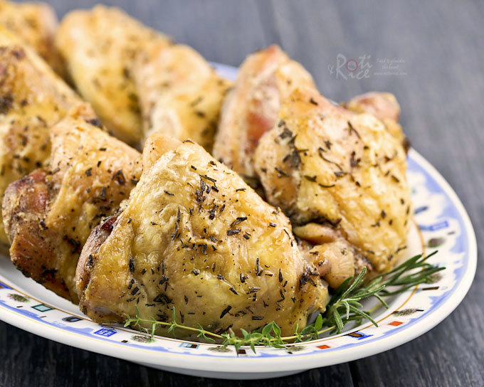 Rosemary Thyme Baked Chicken