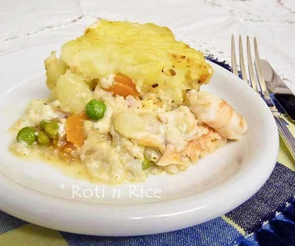 English Fish Pie and a Winner!