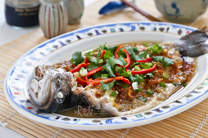 Steamed Rainbow Trout