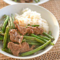 Beef Stir Fry with Green Beans