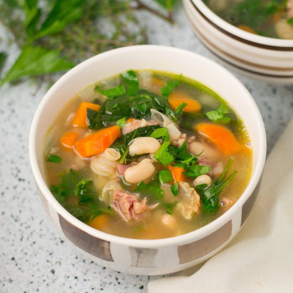 Ham Bone Broth Soup