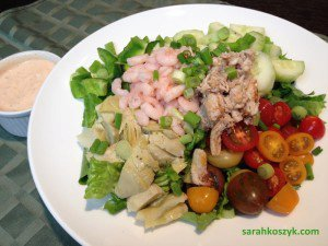 Classic Shrimp & Crab Salad With Homemade Greek Yogurt-Inspired Thousand Island Dressing