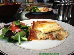 Vegetable Lasagna with Zucchini