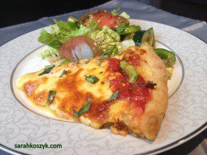 Bell pepper & Cheese Pizza