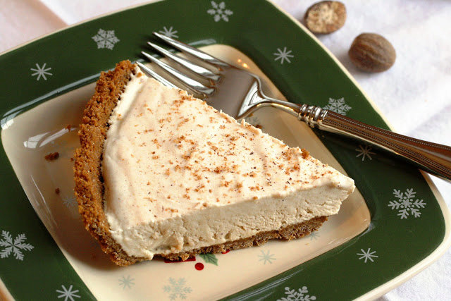 No. 51 - Egg Nog Pie with a Ginger Snap Crust