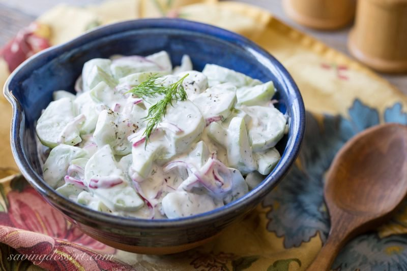 Cold Cucumber Salad (Garden-to-Table)