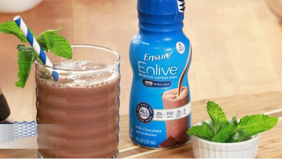 Minty Chocolate Protein Smoothie Recipe