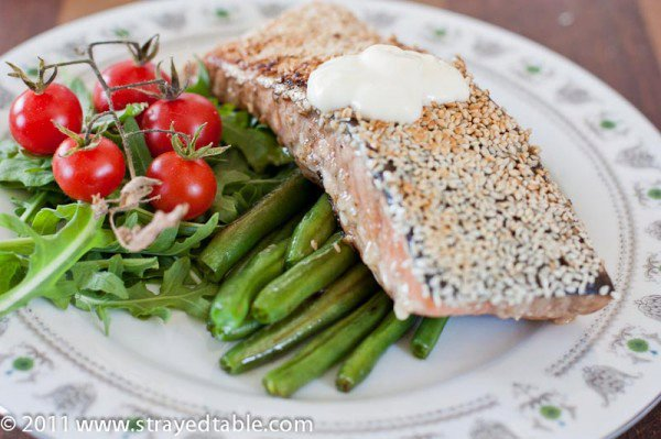 Sesame Salmon - Recipe