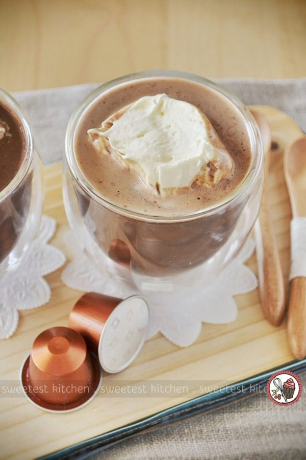 Cinnamon Espresso Hot Chocolate