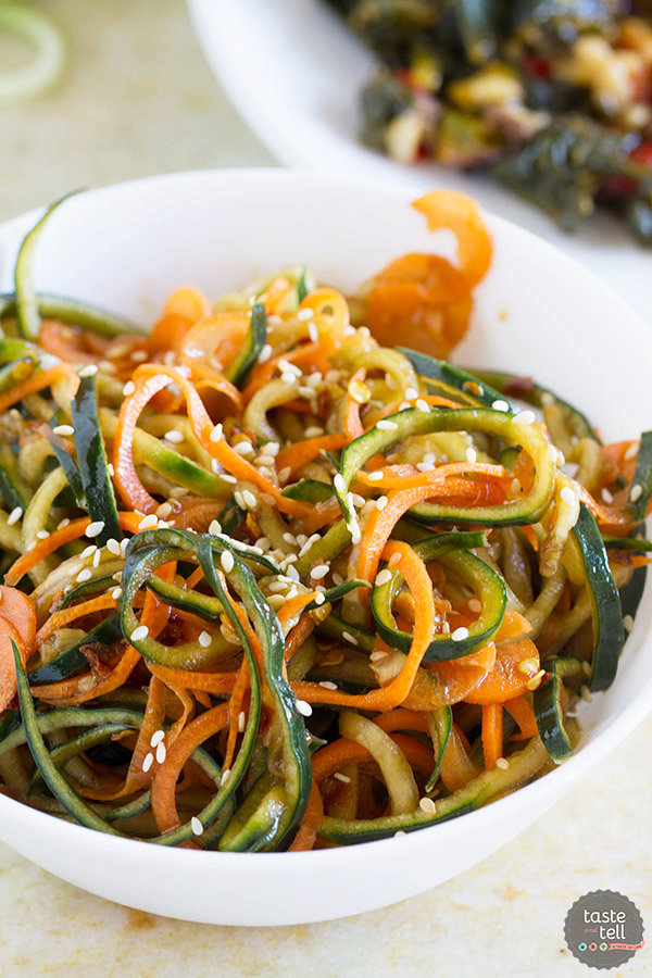 Korean Cucumber Salad and EatingWell™ Frozen Entrees
