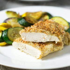 Crispy Baked Honey Mustard Chicken