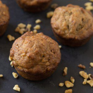 Perfect Banana Nut Muffins