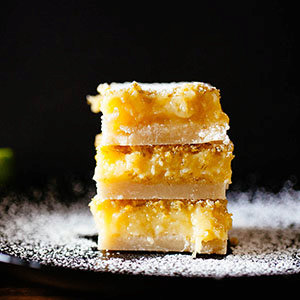 Thick & Chewy Lime Bars