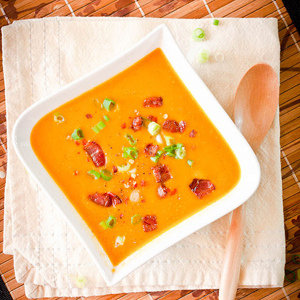 Smokey Butternut Squash Soup