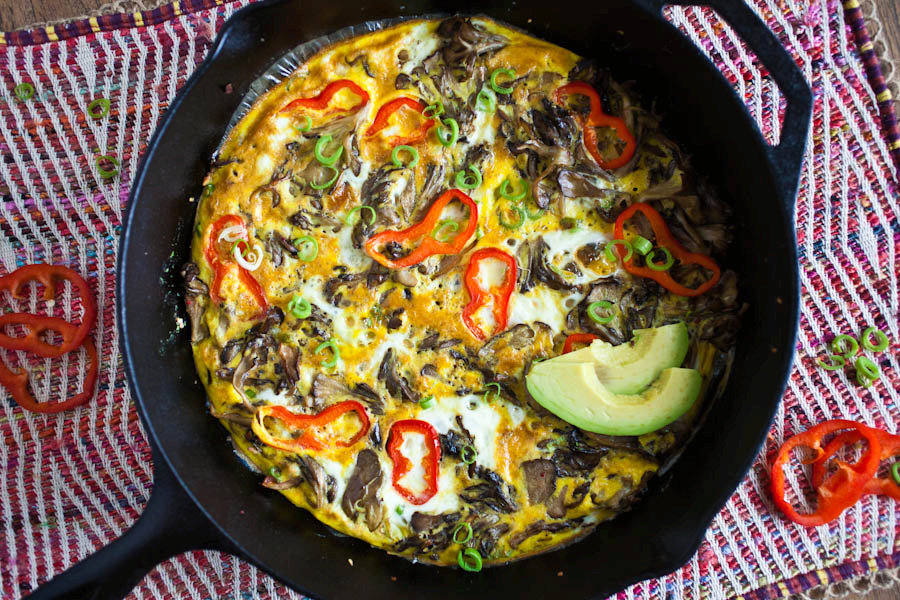 Hen of the Woods Frittata