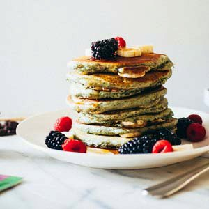 Berry Banana Pancakes