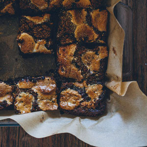 One Bowl S'mores Brownies