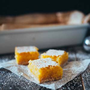 Thick & Chewy Lemon Bars