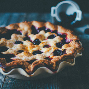 Blueberry & Blackberry Pie