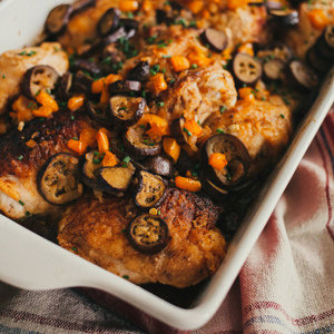 Miso-Smothered Chicken Bake