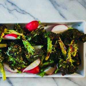 Charred Broccoli Salad