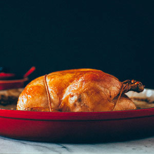 Roasted Chicken with Crispy Skin