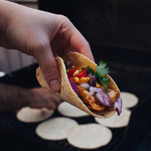 Grilled Pork Shoulder Tacos