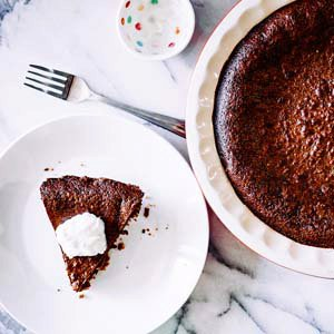 Chocolate Chess Pie with a Do-Si-Do Crust