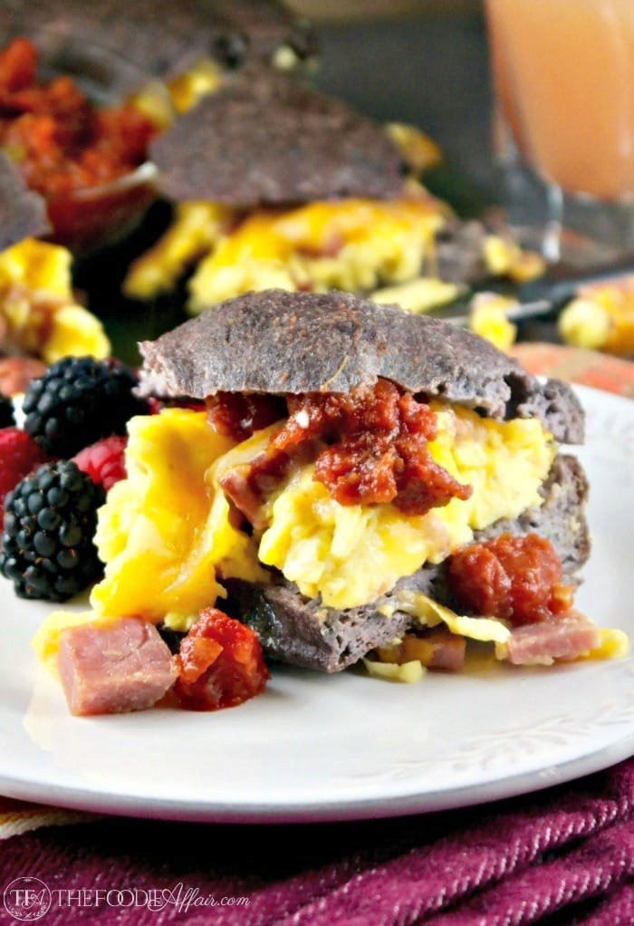 Low Carb Breakfast Sandwich to Feed a crowd or wrap-up to go