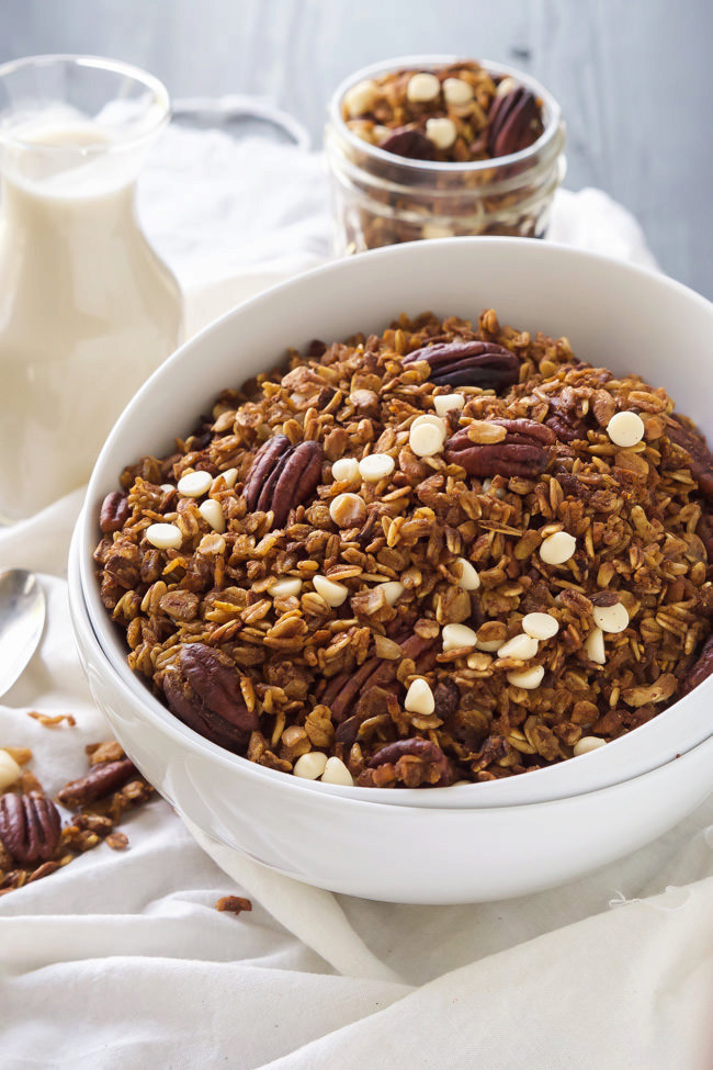 Slow Cooker Pumpkin Granola