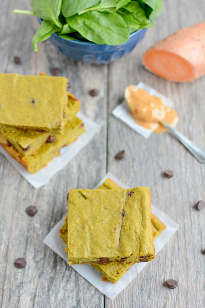 Green Smoothie Snack Bars