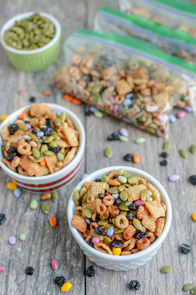 Nut-Free Toddler Trail Mix