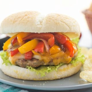 Fajita Turkey Burgers