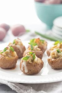 Mini Twice Baked Potatoes and a Giveaway!
