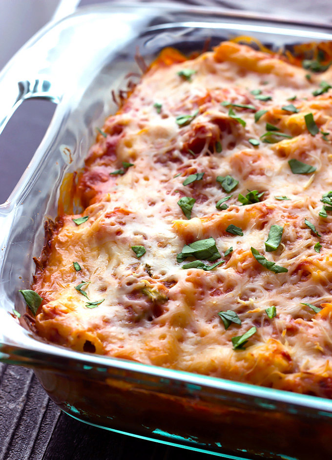 Roasted Vegetable Baked Ziti recipe