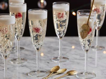 Champagne Jelly Flutes