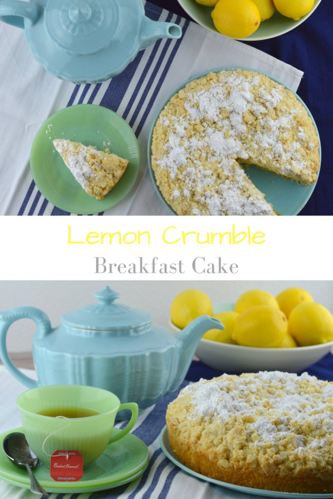 Lemon Crumble Breakfast Cake