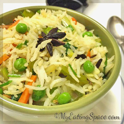 Indian Vegetable Pilaf